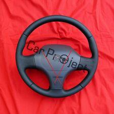 Lenkrad für Fiat Ducato, Citroen Jumper und Peugeot Boxer. Neu mit Leder bezogen