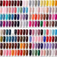 8ml LEMOOC Nail UV Gel Polish Soak off Nail Art UV Gel Color Colorful UV/LED