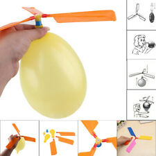 12PC Balloon Helicopter Flying Toy Child Birthday Xmas Party Bag Stocking Filler