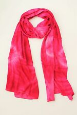 NEW HANDMADE EXTRA LONG MULTI COLOUR TIE DYE SCARF SARONG FREE POST SCL200PN
