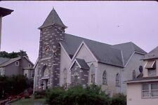 historic structures-abandoned church repurposed @ Lehighton Pa. Fuji slide