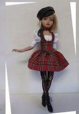ELLOWYNE WILDE MSD SEWING PATTERN EDGY PUNK SALE DRESS FASHION OUTFIT SET