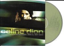 CD CARTONNE CARDSLEEVE CELINE DION I DROVE ALL NIGHT 4T DONT 1 DE GOLDMAN NEUF
