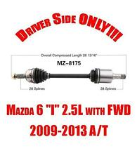 """Front Left Driver Side Cv Shaft Axle for Mazda 6 """"I"""" 2.5L with FWD A/T 2009-2013"""