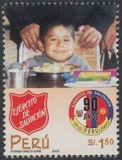 Peru 1258 2000 90 Anniversary of the Salvation Army Peru MNH