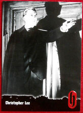 HAMMER HORROR - Series One - Card #26 - CHRISTOPHER LEE -