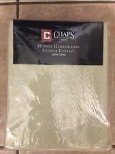 Chaps Hudson Herringbone Shower Curtain