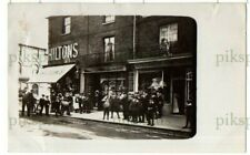 More details for old postcard shops on slough high street bucks hiltons etc real photo 1910-15