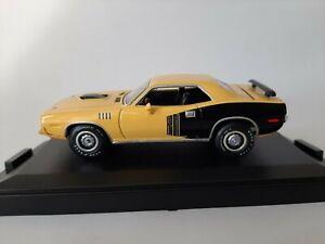 1/43 O scale ERTL 32246 1971 Plymouth Cuda