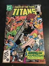 Tales Of Teen Titans#72 Incredible Confition 9.4(1986) Barreto Art!!
