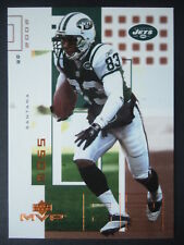 NFL 167 Santana Moss New York Jets Upper Deck MVP 2002