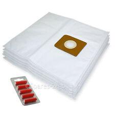 5 x Cloth Vacuum Bags For Nilfisk King Series Hoover Bag + Fresh