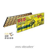 DID 520 VX2 X Ring Kette Gold verstärkt G&B 118 Glieder offen Clipschloß VX-2