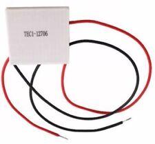 12V 60W TEC1-12706 Placa de refrigeración del disipador de calor Thermoelectric Cooler Peltier 40x40mm
