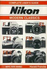 NIKON F2-FT2-FE2-FA-FM-NIKKORMAT EL 35mm SLR CAMERA USERS GUIDE MANUAL -HOVE