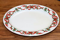 Noble Excellence 12 Days of Christmas * OVAL SERVING PLATTER * Excellent!