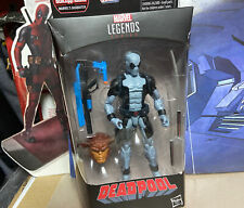 MARVEL LEGENDS X-FORCE GREY DEADPOOL (SASQUATCH BAF Wave) Sealed, New X-Men Rare