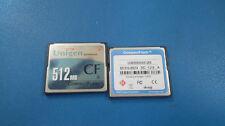 512 MB Unigen Enterprises Compact Flash Industrial IC Memory Card