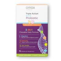 Omax Kids Probiotic & Prebiotic Chewables, 20% Off Manufacturer Direct