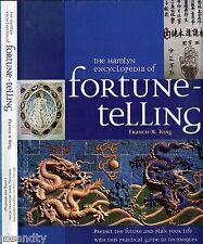 THE HAMLYN ENCYCLOPEDIA OF FORTUNE-TELLING - FRANCIS X. KING (HCDJ; 1999) TAROT