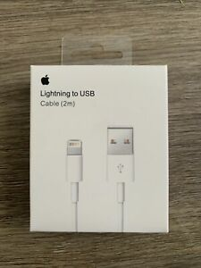 Apple Charger 2m / 6ft Original Fast Charger Cable Charging Cord For iPhone
