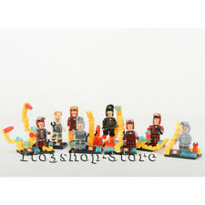 Marvel Iron Man Super Hero 8pcs Minifigure Building Blocks Fit Lego Toys NEW