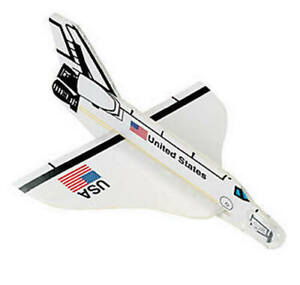 Pack of 12 - Foam Space Shuttle Gliders Party Favours Bag Fillers