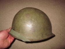 Early Vietnam War Us Army airborne paratrooper original helmet and liner !