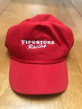 Firestone Racing Snap Back Hat - Red