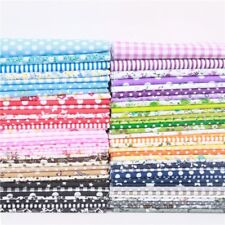50pcs 10x10cm Muticolor Square Fabric Patchwork Clothing Sewing Quilting Crafts