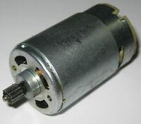 24 V - 1800 RPM - Slow Speed Electric DC Motor w/ 12T Steel Gear - High Torque