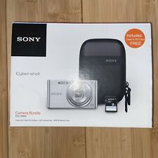 Sony DSCW830 20.1 MP Digital Camera Bundle Case &SD Card