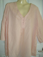 SZ 20 MASSIVE WEIGHT REDUCTION SALE  TARGET  PEACH  COTTON  BEACH  TOP   $20