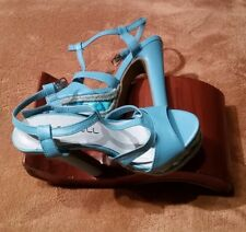 Lots of womens  shoes,wedge and high heels (3pairs) size 5.5 made in china