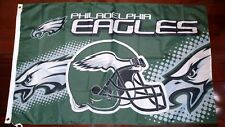 Philadelphia Eagles 3x5 Flag. US seller. Free shipping within the US