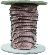 500 Ft. 18 AWG Gauge Stranded Bare Copper Grounding Electrical Wire Residential