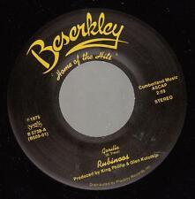 HEAR! Power Pop 45 RUBINOOS Gorilla on Beserkley
