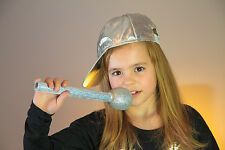 Basecap silber Schirmmütze Party Disko Fasching Karneval Kostüm 123890213