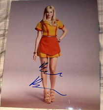 "BETH BEHRS SIGNED AUTOGRAPH SEXY LONG LEGS ""2 BROKE GIRLS"" HOT PROMO 8X10 PHOTO"