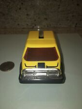 Vintage 1980s Voltron vehicle force yellow car foot