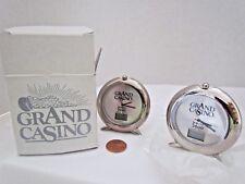 Grand Casino Year 2000 Count Down Clocks - Set of 2 Souveniers