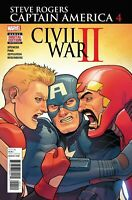 STEVE ROGERS CAPTAIN AMERICA #4 Civil War II Tie-In 2017 Marvel Comics NM