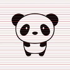 Cute Panda Decal Sticker FOR JDM Euro Honda Subaru tuner stance drift illest