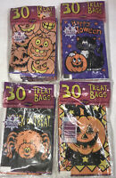 Vintage Halloween Treat Bags Lot of 4 Packs 120 Total NOS 1990s Paper Trick New