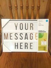 New Led Lighted Message Board ,Box, Room Essential Sign