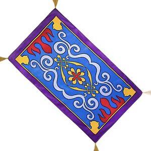 "Disney Magic Carpet Beach Towel Aladdin 40""x70"" Bath Genie Abu World Land Travel"