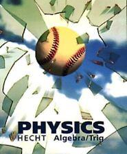Physics: Algebra/Trigonmetry, Hecht, Eugene, New Book