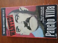 Pancho Villa with Telly Savalas Chuk Connors VHS Tape