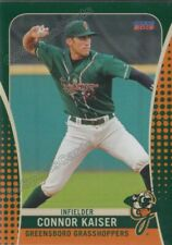 2019 Greensboro Grasshoppers Connor Kaiser RC Rookie Pittsburgh Pirates