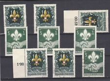 AUSTRIA 1951 & 1962 MNH USED BOY SCOUTS ISSUES